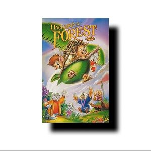VHS tape once upon a forest